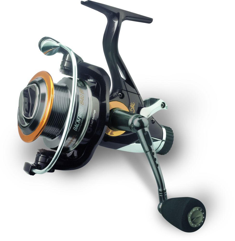 Browning backfire 2 baitfeeder reel baitrunner bobco tackle for Browning fishing reels