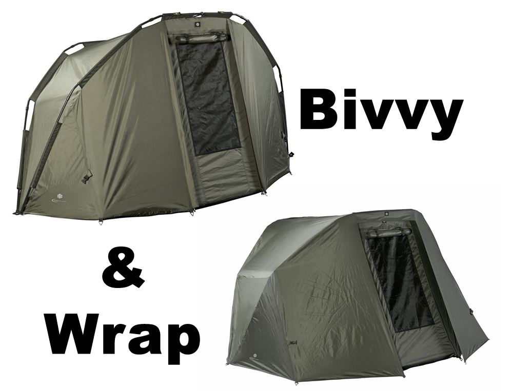 JRC Contact 2 Man Bivvy  & Wrap Deal
