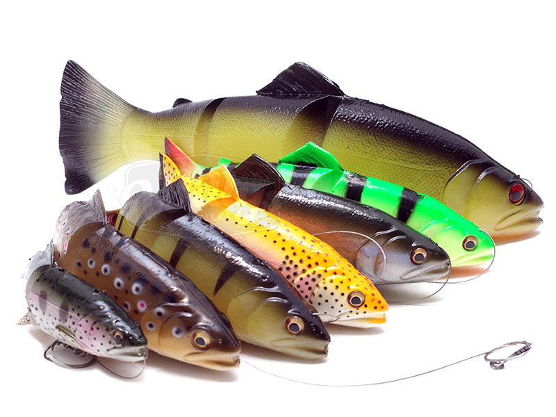 Savage gear 3d line thru trout 15cm soft baits lures for Savage fishing gear