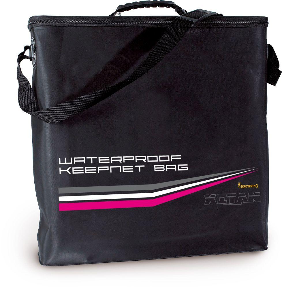 Browning waterproof net bag luggage bobco fishing tackle for Browning fishing backpack