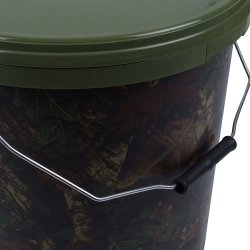 Gardner Camo Bucket Bait Storage Bobco Fishing Tackle Leeds