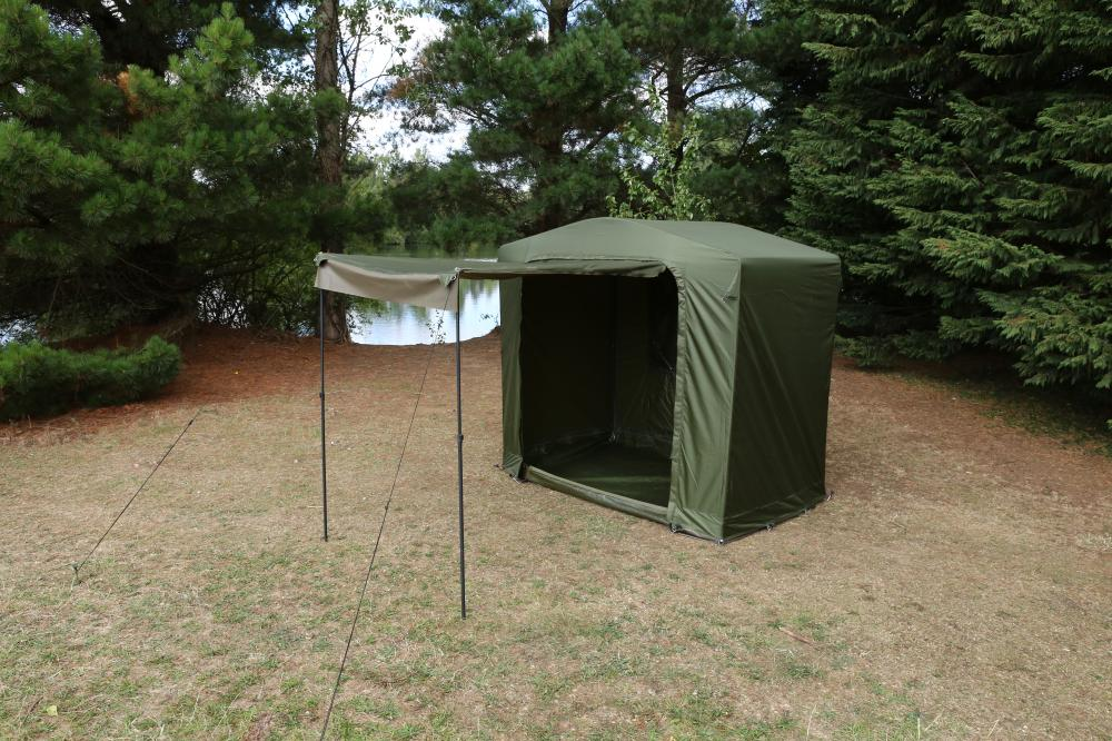 Fox royale cook tent station shelter brollys and bivvys for Cuisine xxl allemagne
