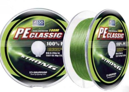 Asso PE Classic Multi Braid 300m