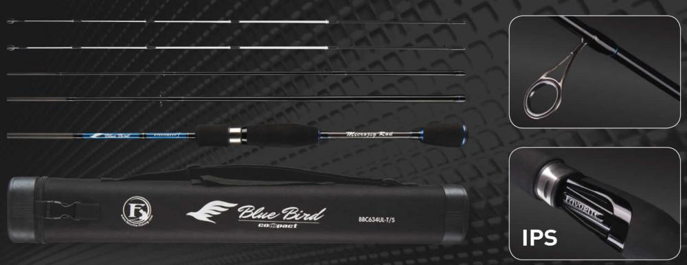 Favorite Blue Bird Compact Rod