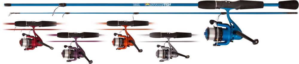 Zebco Rainbow Rod & Reel Fishing Combo