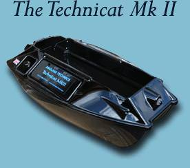 Angling Technics Technicat Mk2 with Graphic Echo Sounder