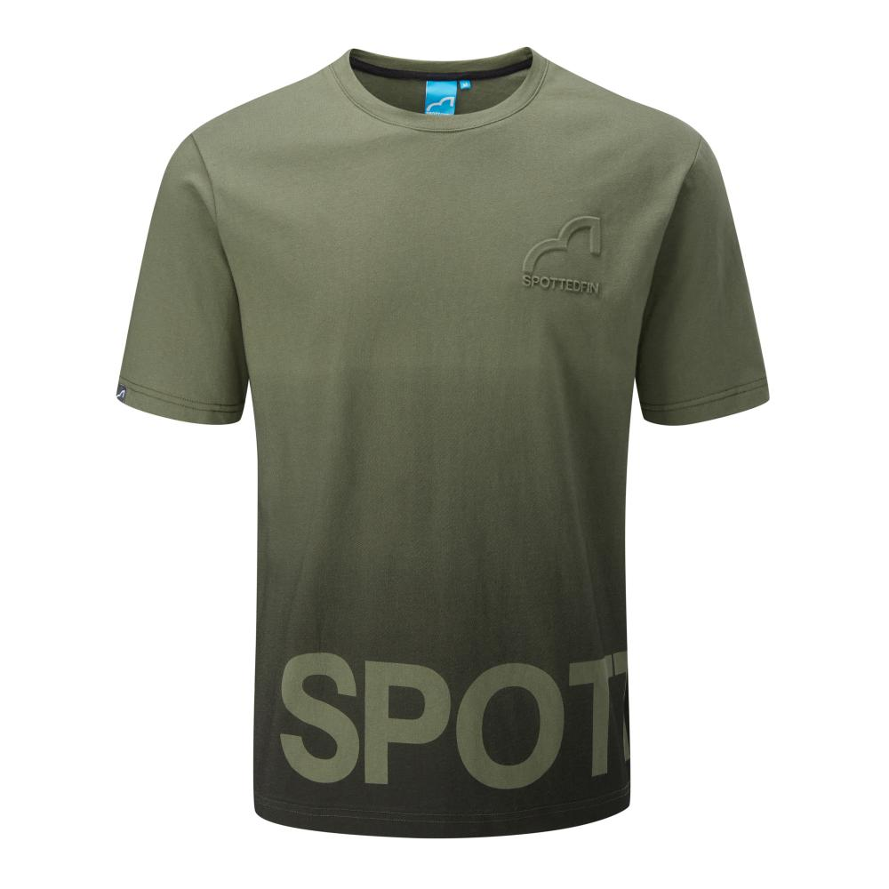 Spotted Fin Khaki Fade T-Shirt