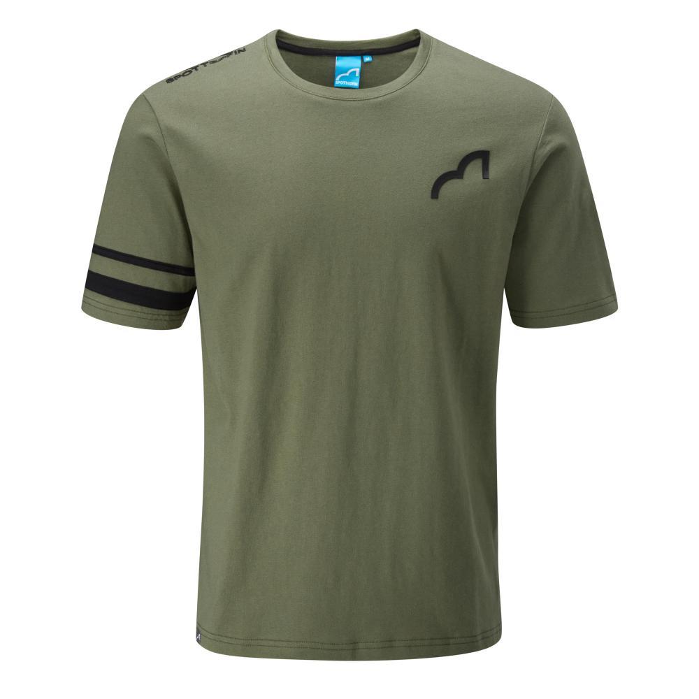 Spotted Fin Green Logo T-Shirt