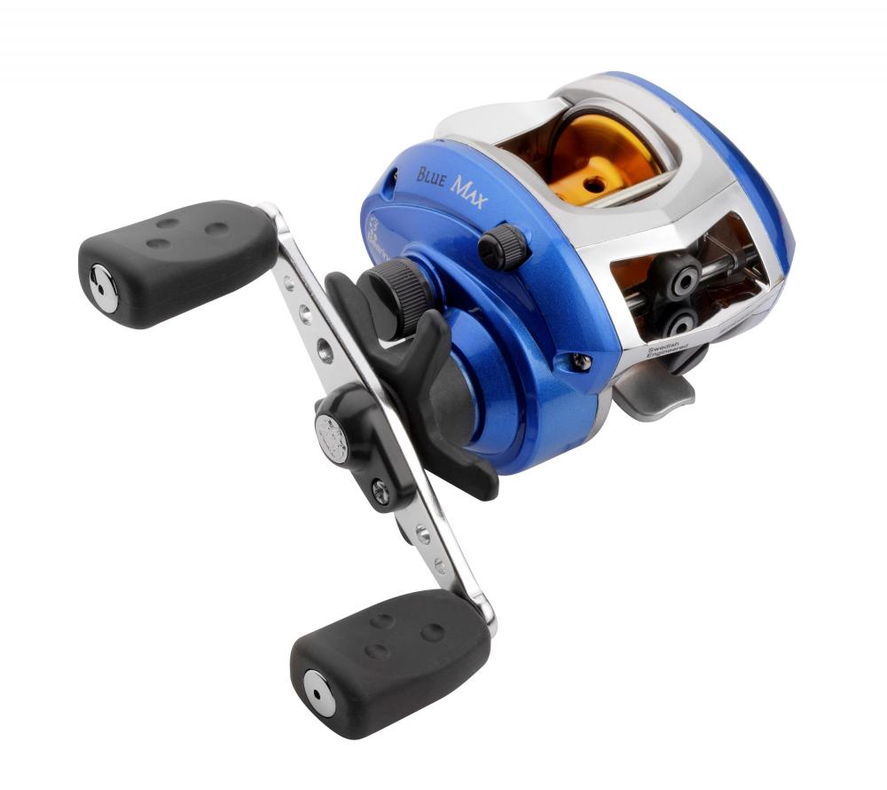 Abu Garcia Blue Max Low Profile Multiplier Reel Left Hand
