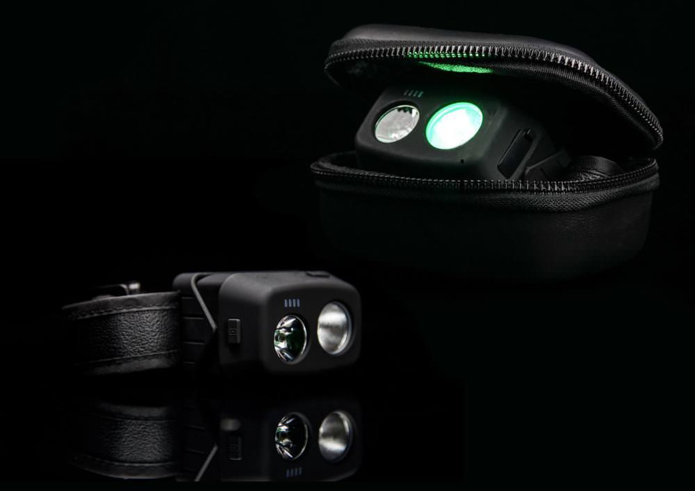 Ridge Monkey Ridge Monkey VRH300 Rechargeable USB Headtorch + GorillaBox 75 Case