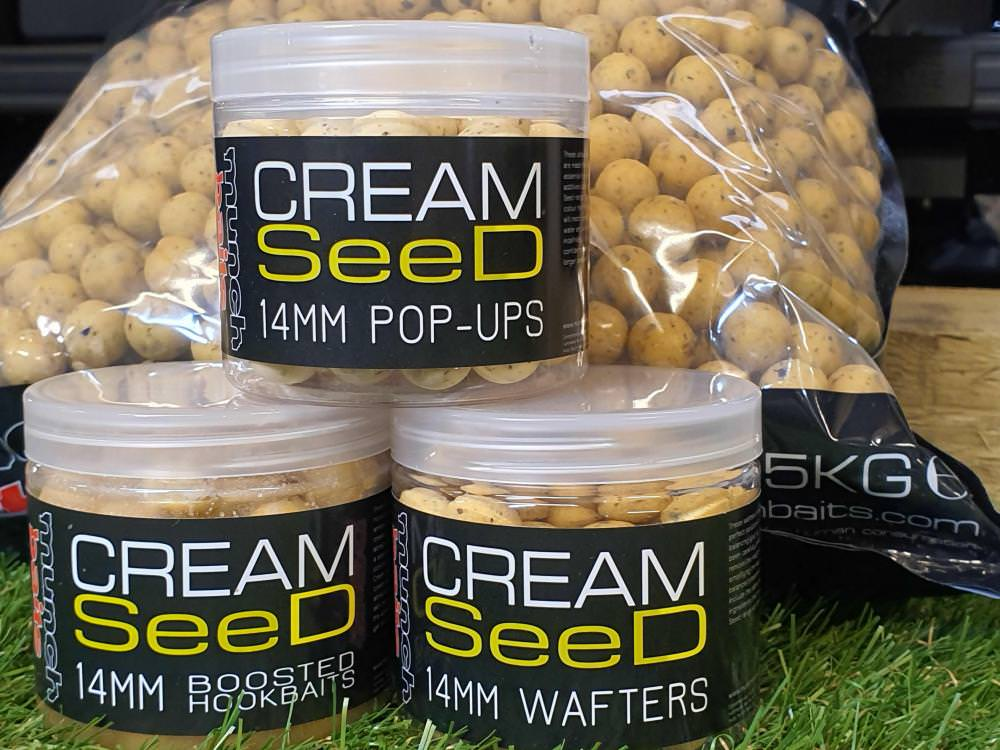 Munch Baits Cream Seed 5kg Bait Bundle
