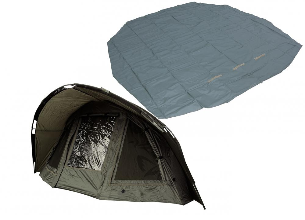 Nash Double Top Mk4 Giant Bivvy with FREE Heavy Duty Groundsheet