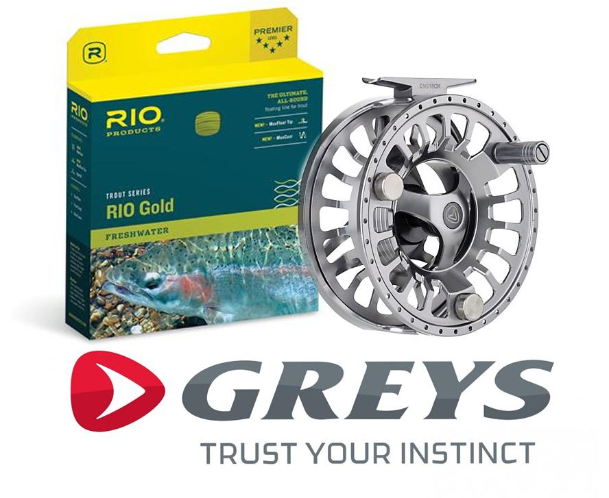 Greys GTS 900 Reel + Rio Line
