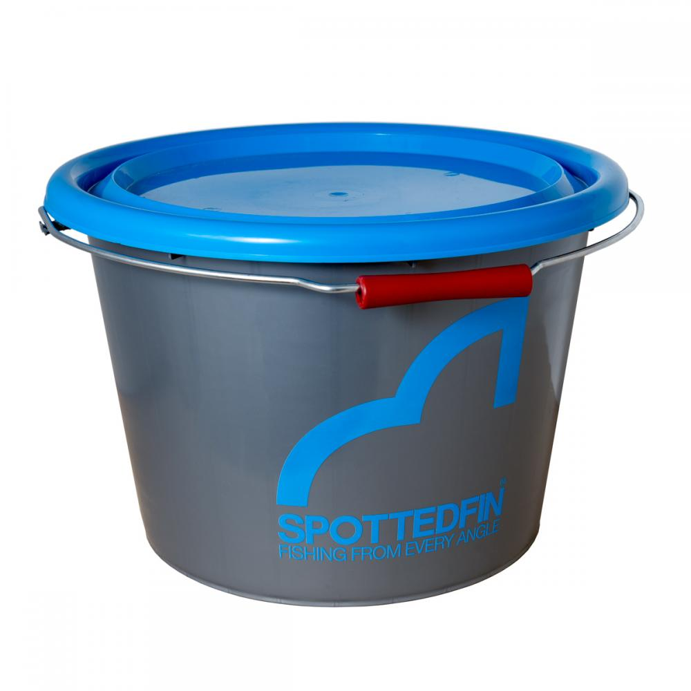 Spotted Fin Bucket and Lid
