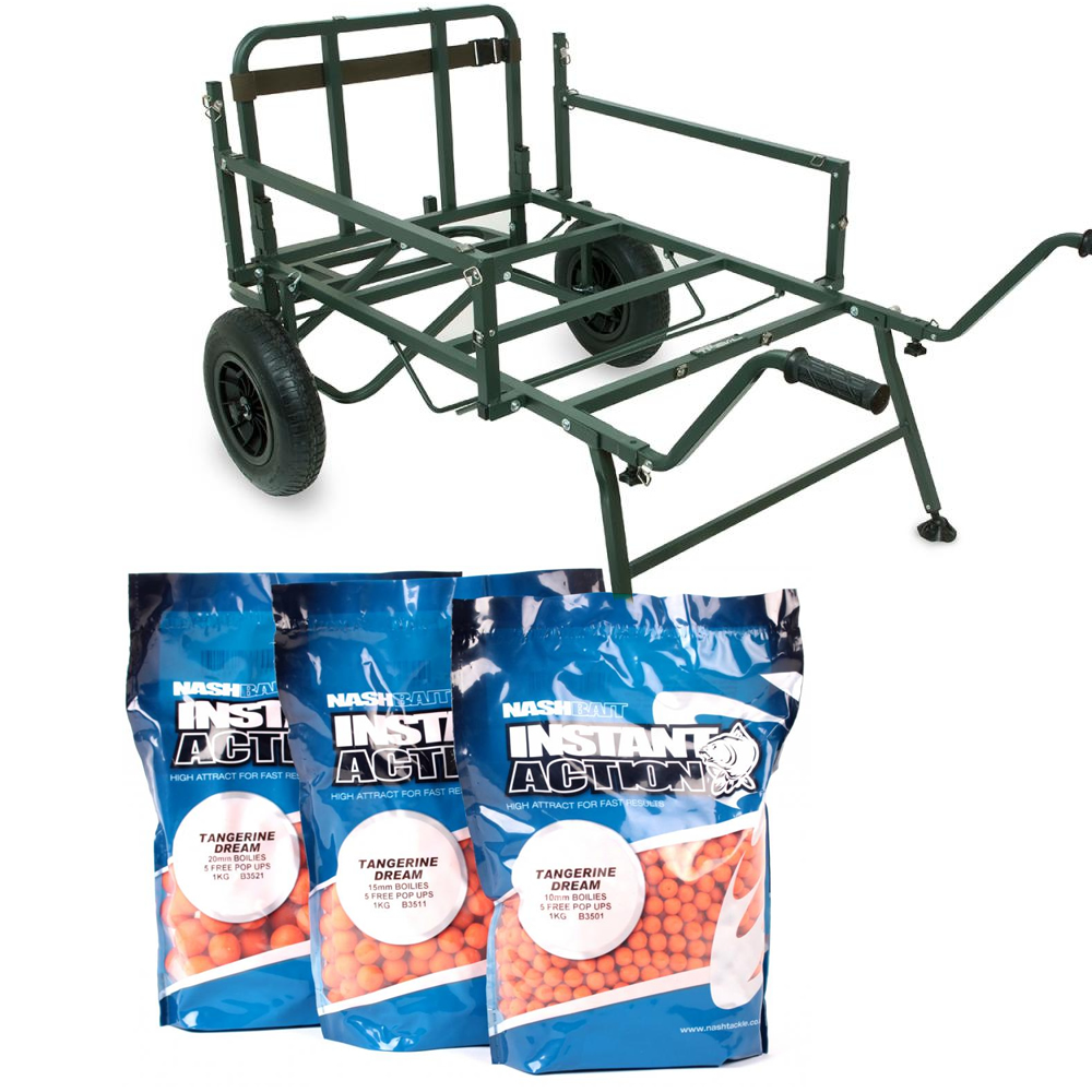 Shimano Trench Barrow PLUS 15kg Nash Instant Action Boilies