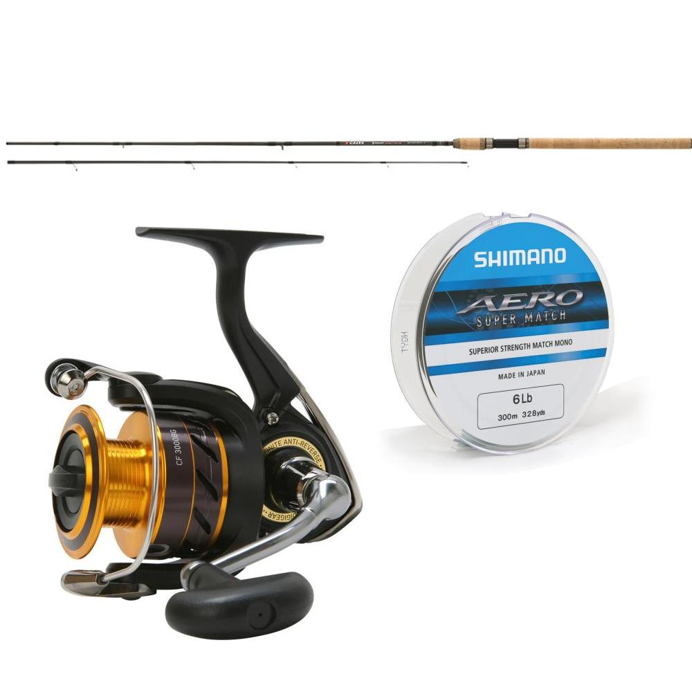 Greys Greys Toreon Tactical 8ft7 Method Feeder Rod PLUS Daiwa Crossfire Black & Gold Reel 2500 with Line
