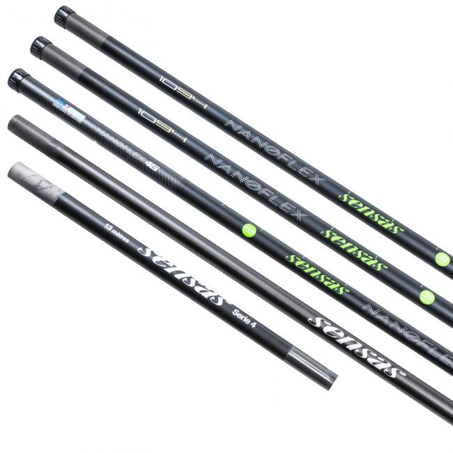 Sensas Nanoflex 1094 Commercial Package PLUS 8.5m Margin PLUS 3 Spare 4s PLUS 3 Extra Kits