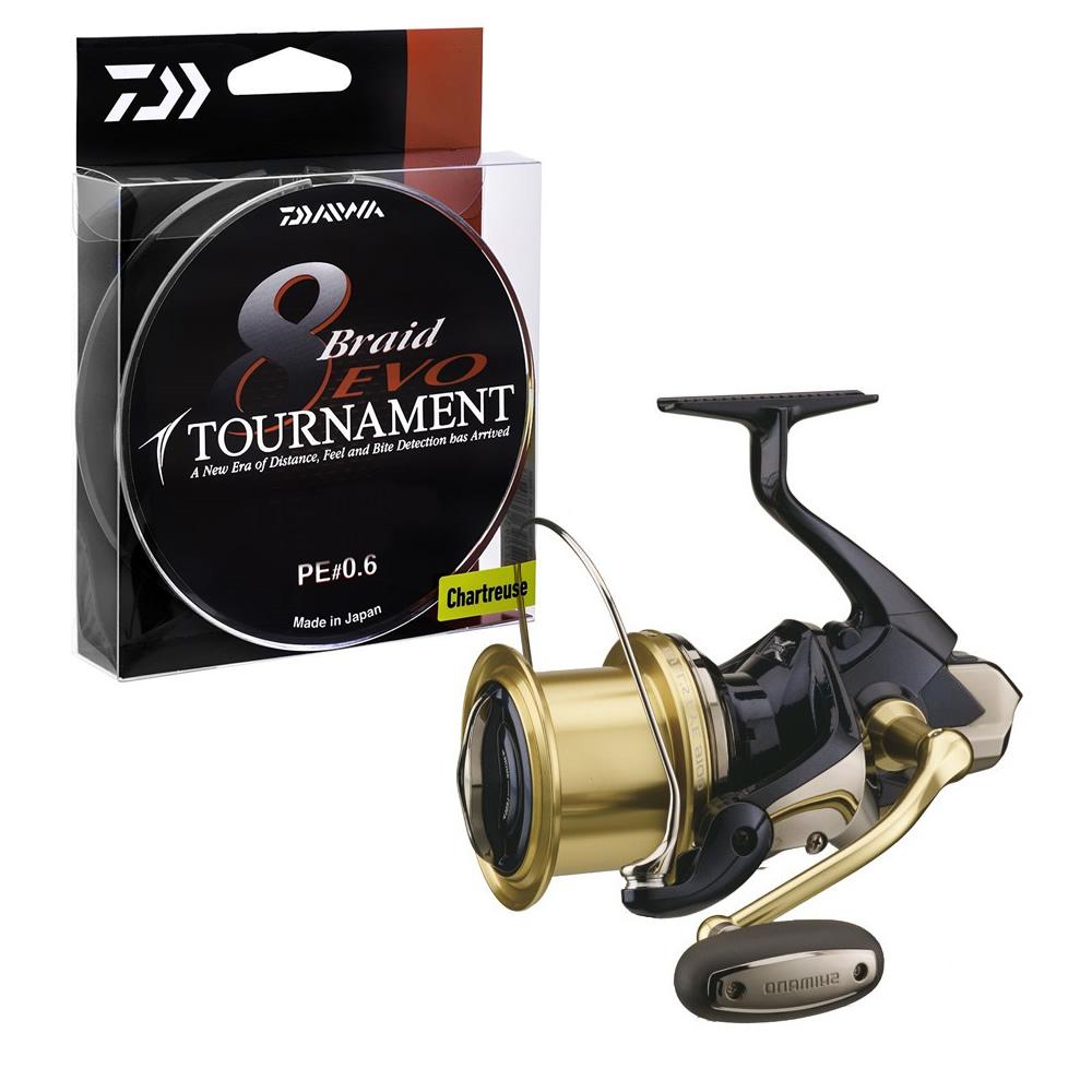 Shimano Bulls Eye 9120 Reel PLUS 300m Tournament Braid