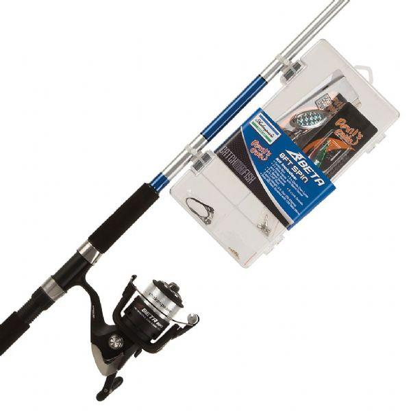 Shakespeare Catch More Fish 8ft Spinning Rod & Reel Combo