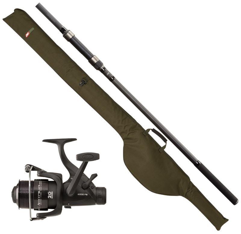 JRC Defender Rod & Reel Combo