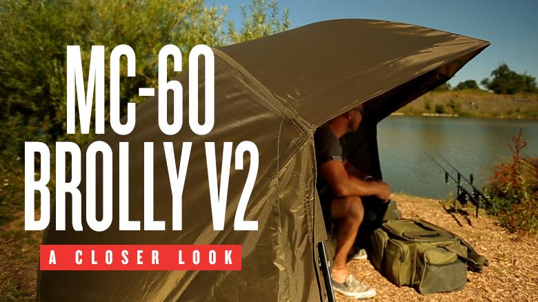 Trakker MC 60 Brolly V2 NEW Carp Fishing Brolly 202214