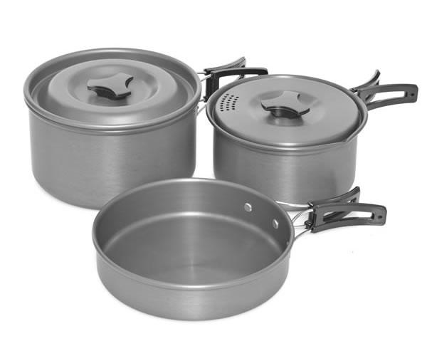 Trakker Armo 3 Piece Cookware Set