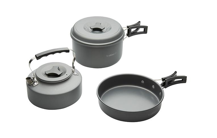 Trakker Armolife Cookware Set 3pc