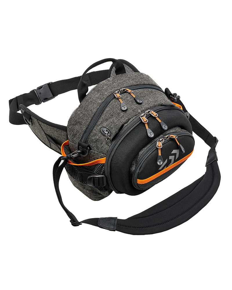 Daiwa Orange & Grey Waist Pack