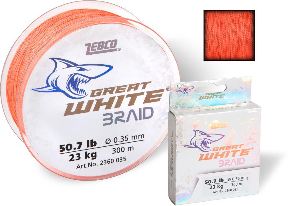 Zebco Great White Braid 300m