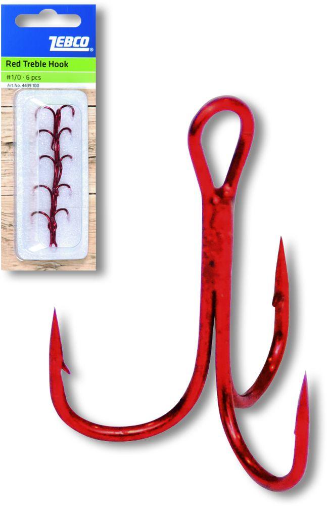 Zebco Topic Red Trebles x 5