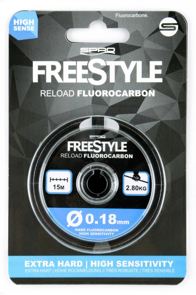 Spro Freestyle Reload Fluorocarbon 15m