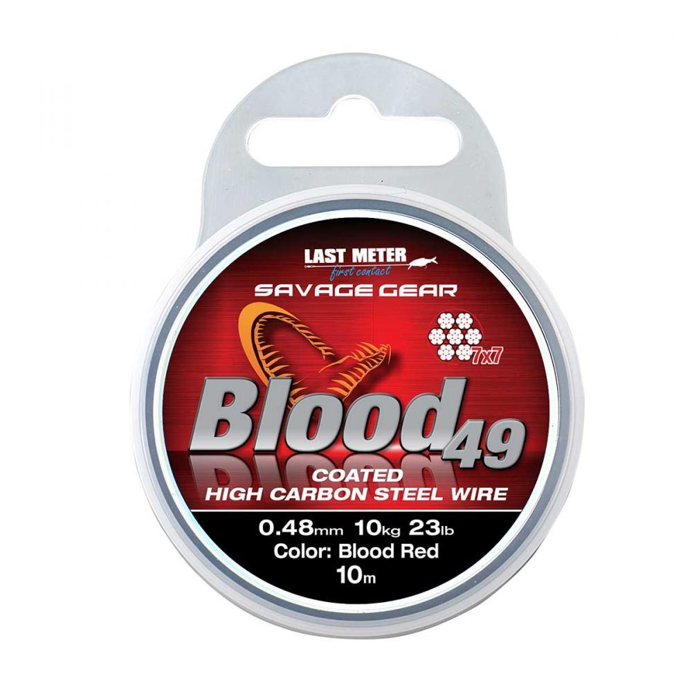 Savage Gear Blood 49 Wire 10m