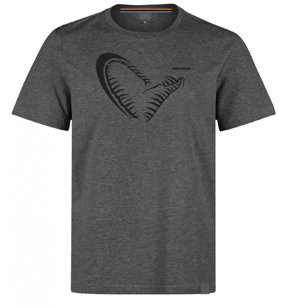 Savage Gear Simply Jaw Grey T-Shirt