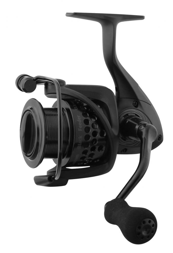 Okuma Custom Black Feeder Reel