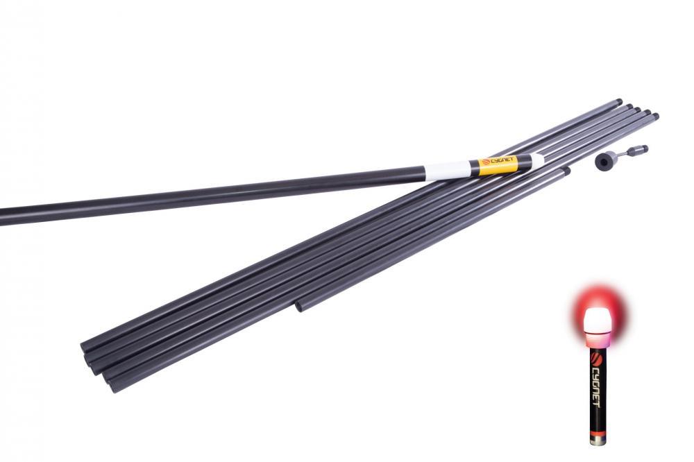 Cygnet Marker Pole Kit 6.5m inc Spot Marker