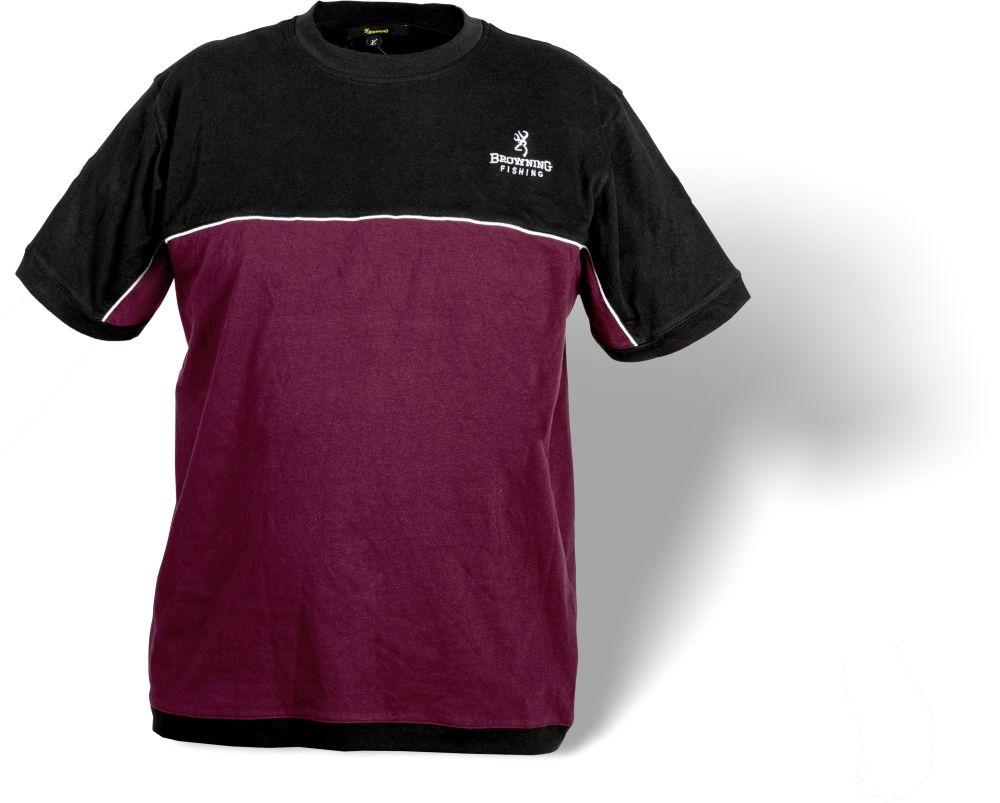 Browning Black & Burgundy T-Shirt