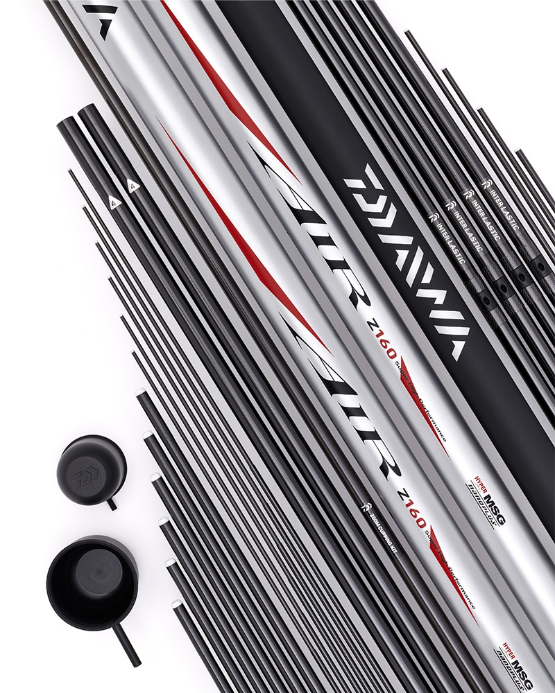 Daiwa Air Z Nanoplus 16m Pole