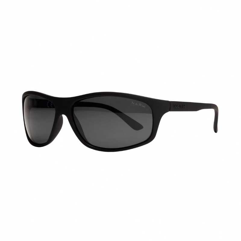 Nash Black Wrap Sunglasses