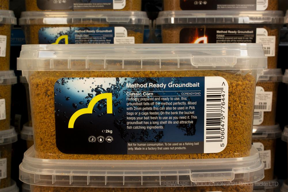 Spotted Fin Classic Corn Ready Groundbait with 2mm Pellet Mix