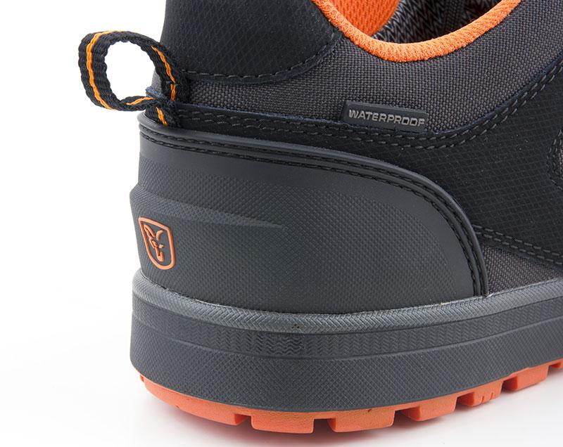 Fox Black \u0026 Orange Trainers Footwear