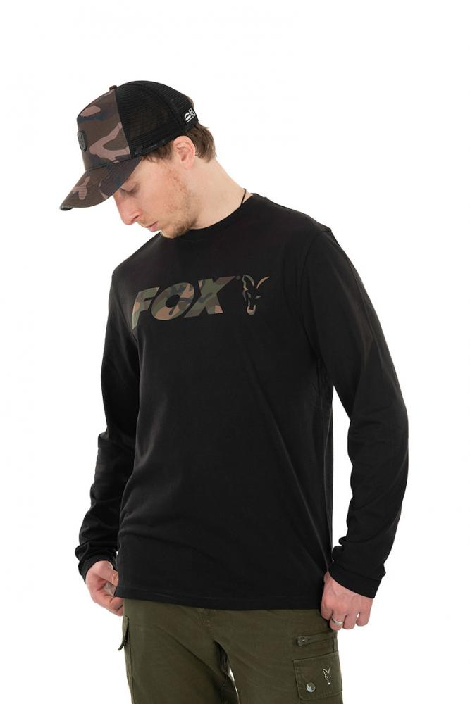 Fox Black Camo Long Sleeve T-Shirt