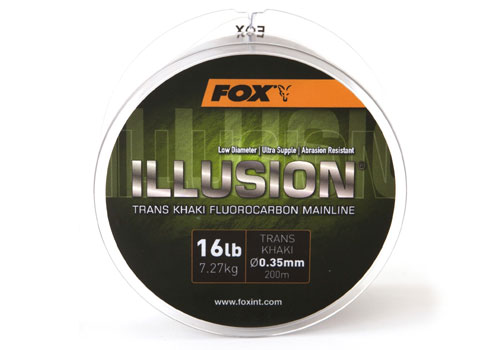 Fox Illusion Trans Khaki Mainline 200m