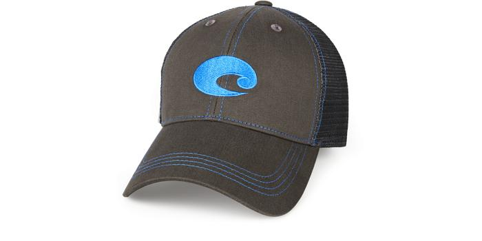 Costa Neon Trucker Graphite Twill Hat