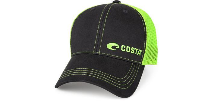 Costa Neon Trucker Logo Cap