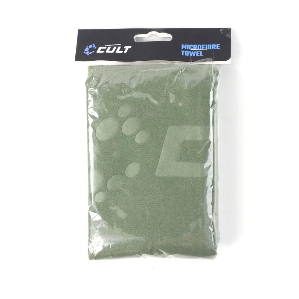 Cult Green Microfibre Towel