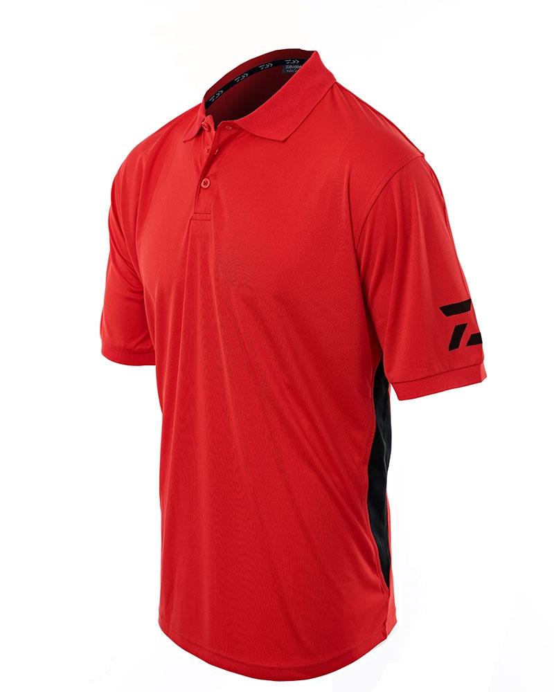Daiwa D Vec Red Polo Shirt