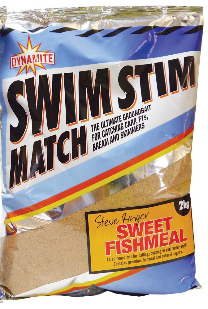 Dynamite Swim Stim Groundbait Sweet Fishmeal 2kg