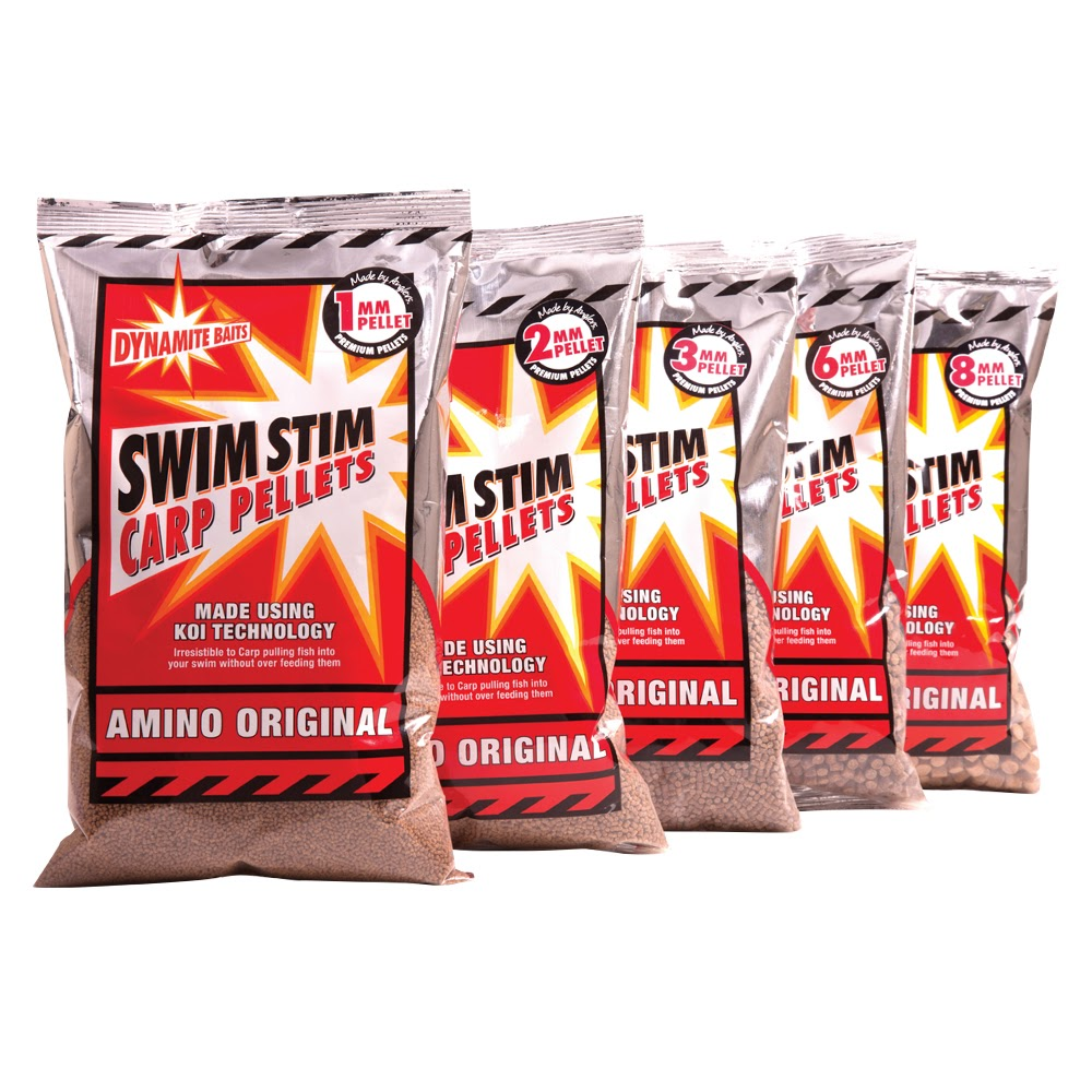 Dynamite Swim Stim Amino Original Feed Pellets