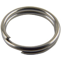MUSTAD Nickel Split Ring