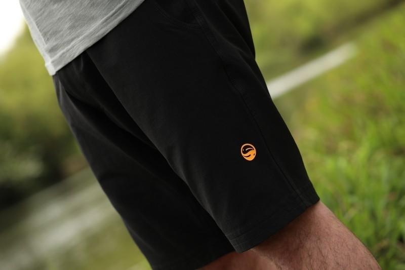 Guru Black Shorts